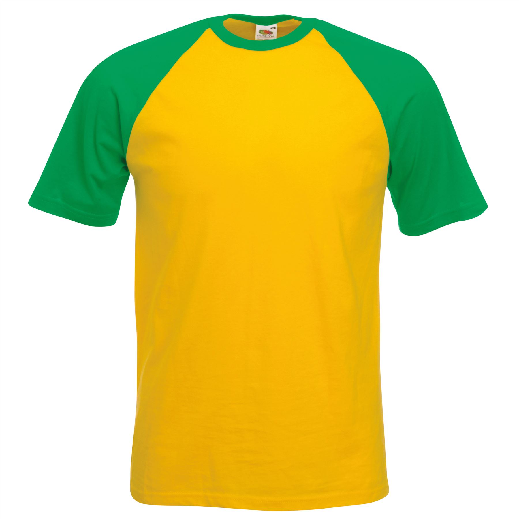 Fruit of the loom fotl men 39 s short sleeve baseball tee for Best baseball t shirts