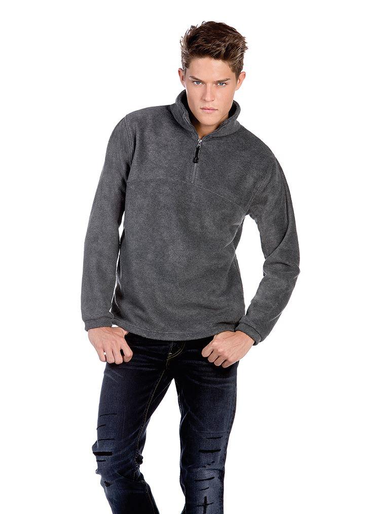 B&c collection homme highlander veste + veste highlander en polaire (FU704) - pull-over sweat 9374af