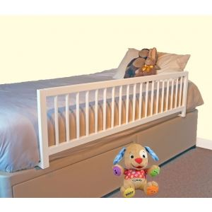 Safetots Wooden Extra Wide Bedrail Barrier Safety Child