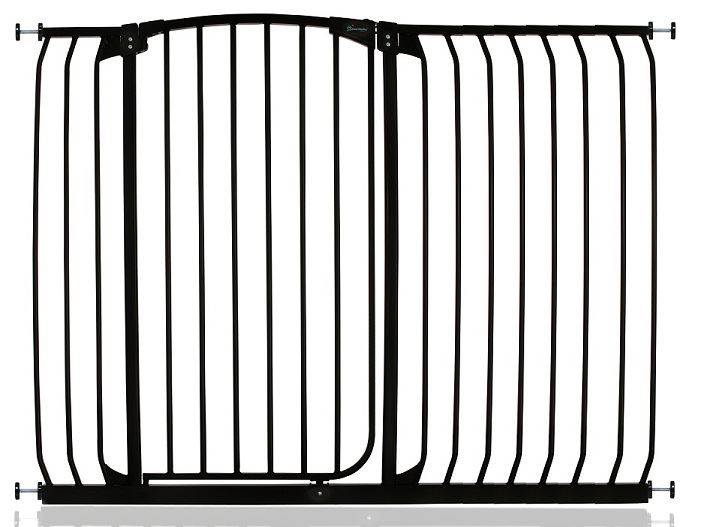 Dreambaby Extra Tall Dog Amp Pet Barrier Baby Gate Black