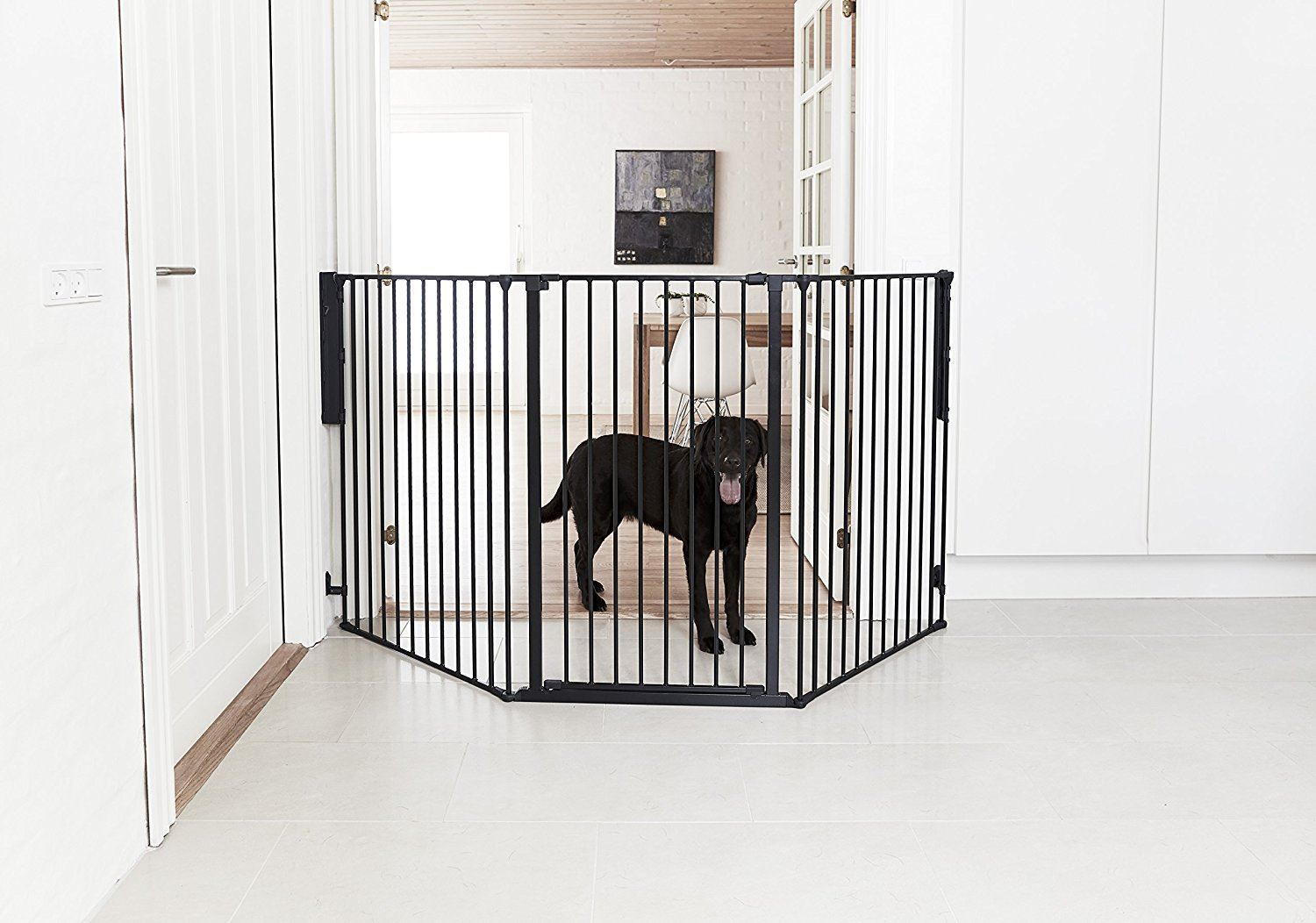 Babydan Extra Tall Extra Wide Baby Pet Safety Stair Gate