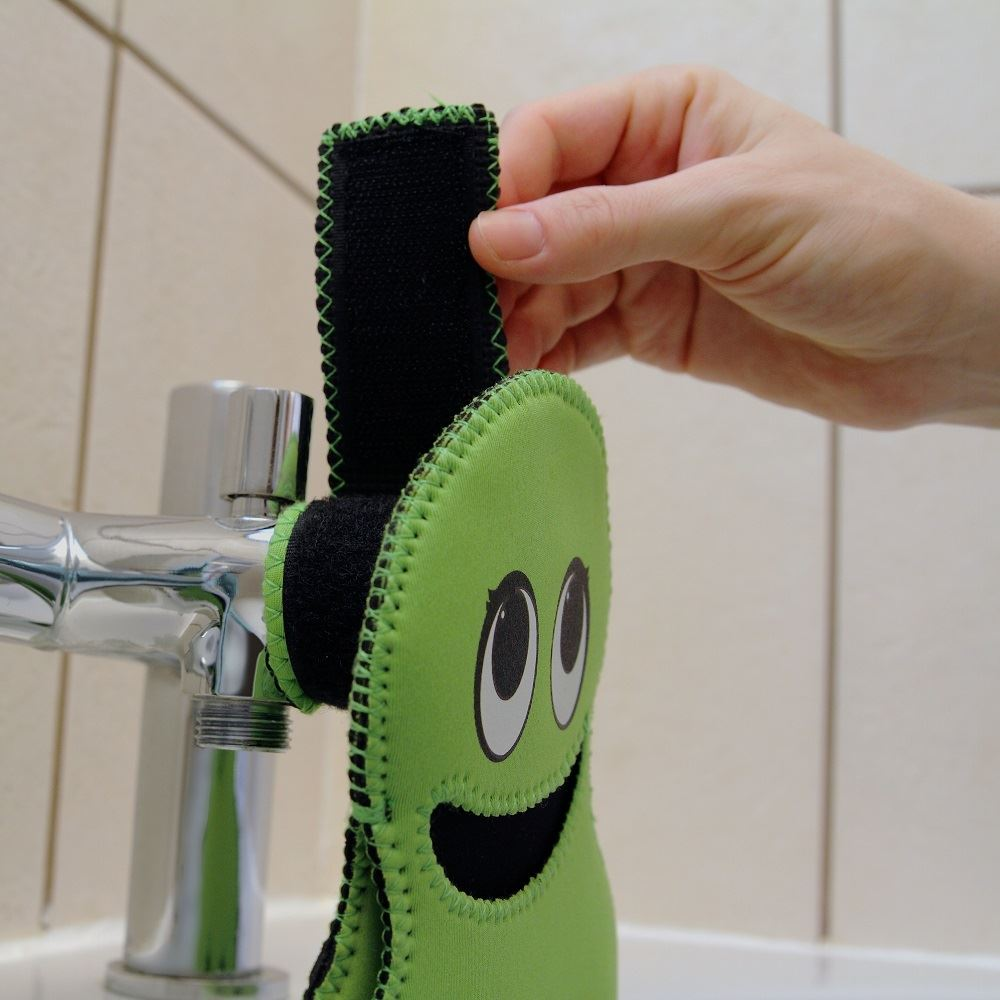 Quacks innovation tappy tap guard bath toy kids tap for Bathroom ideas kid inventions