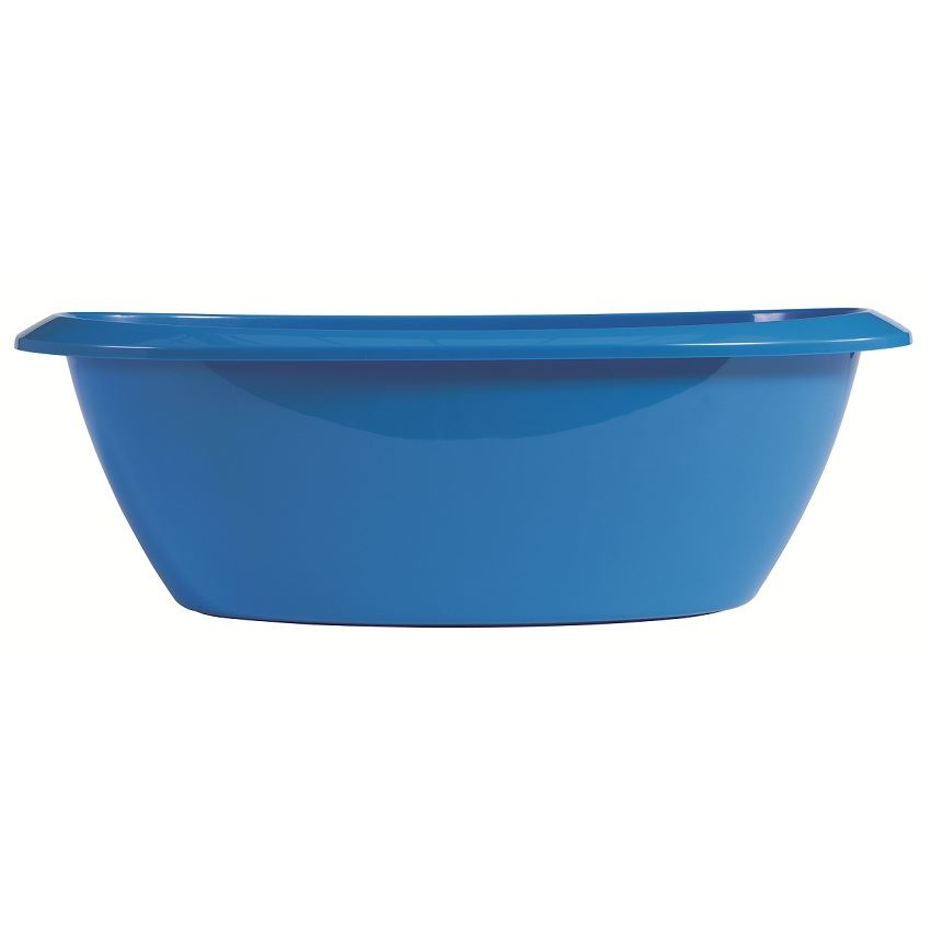 luma large baby bath tub for baby bathtime ocean blue ebay. Black Bedroom Furniture Sets. Home Design Ideas