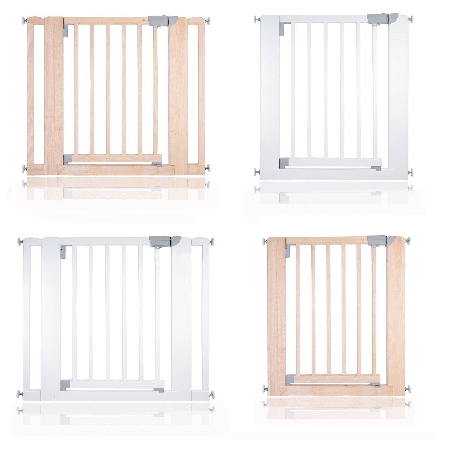 safetots chunky wooden pressure fit stair gate  cm safety  - safetots chunky wooden pressure fit stair gate  cm safety barrier white