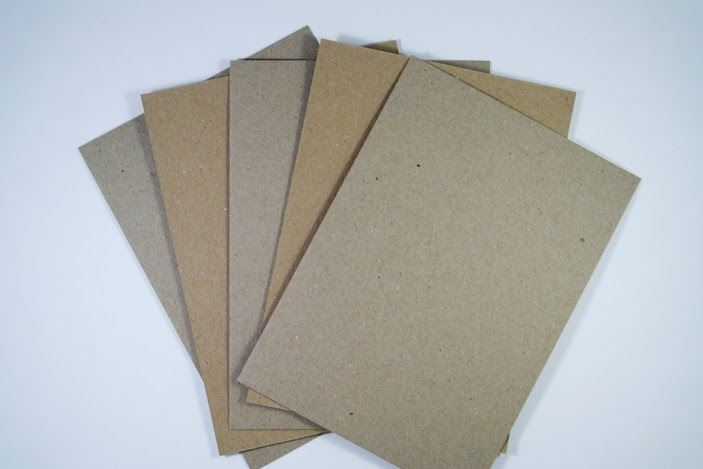 Natural Kraft Card 280 GSM A6 Post Card Size100% Recycled - 50 & 100 packs