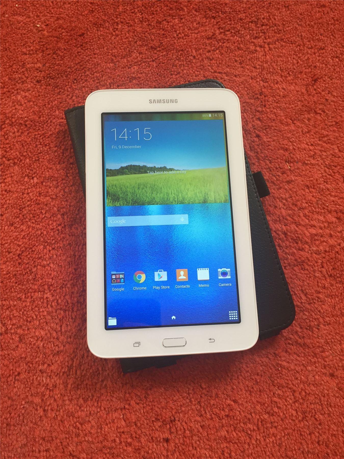 Samsung galaxy tab 3 lite sm t113 white 7 8gb wifi android 4 4 4 tablet ebay - Samsung galaxy tab 4 lite ...
