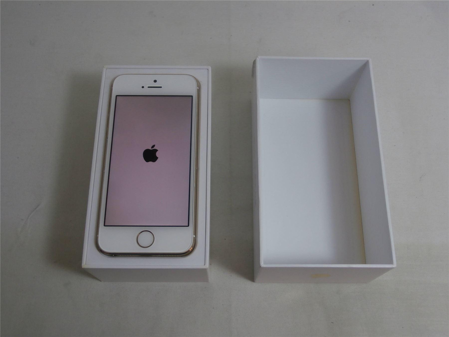 apple iphone 5s 16gb 4g white gold a1457 ebay. Black Bedroom Furniture Sets. Home Design Ideas