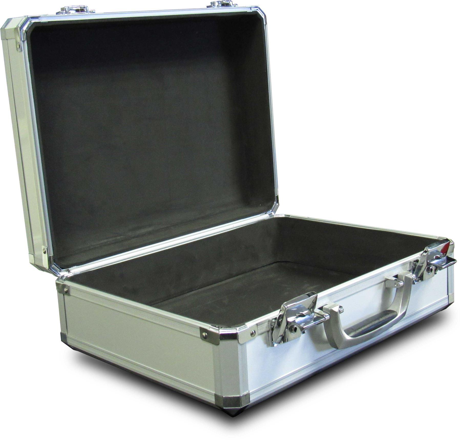 Aluminium Tool Box Flight Case Lockable Briefcase Case
