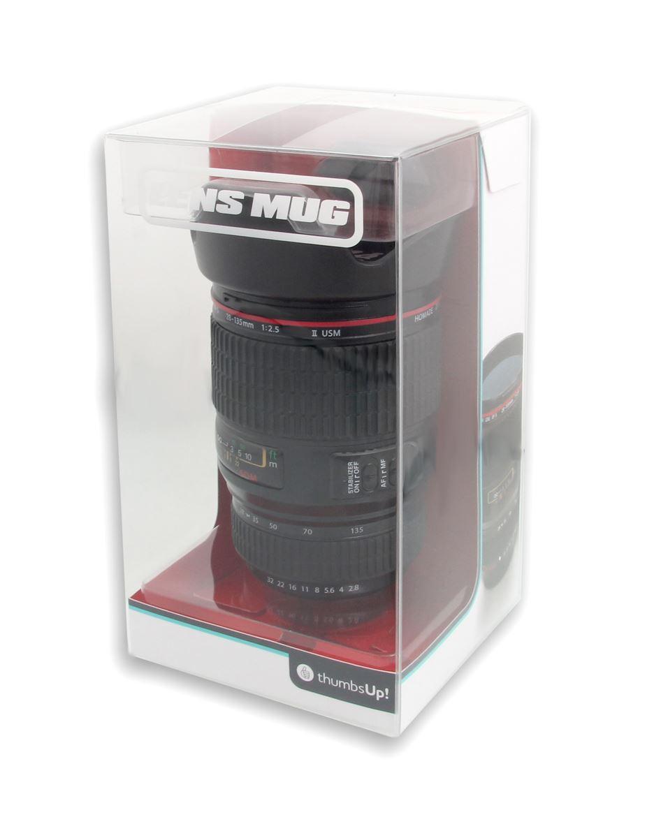 Camera Lens Coffee Cup Tea Mug Novelty 450ml Canon Camera