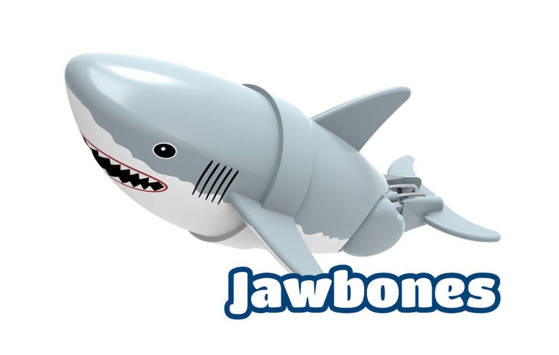 Shark Bath Toys : Lil fishys quot fish shark dolphin figures swimming bath