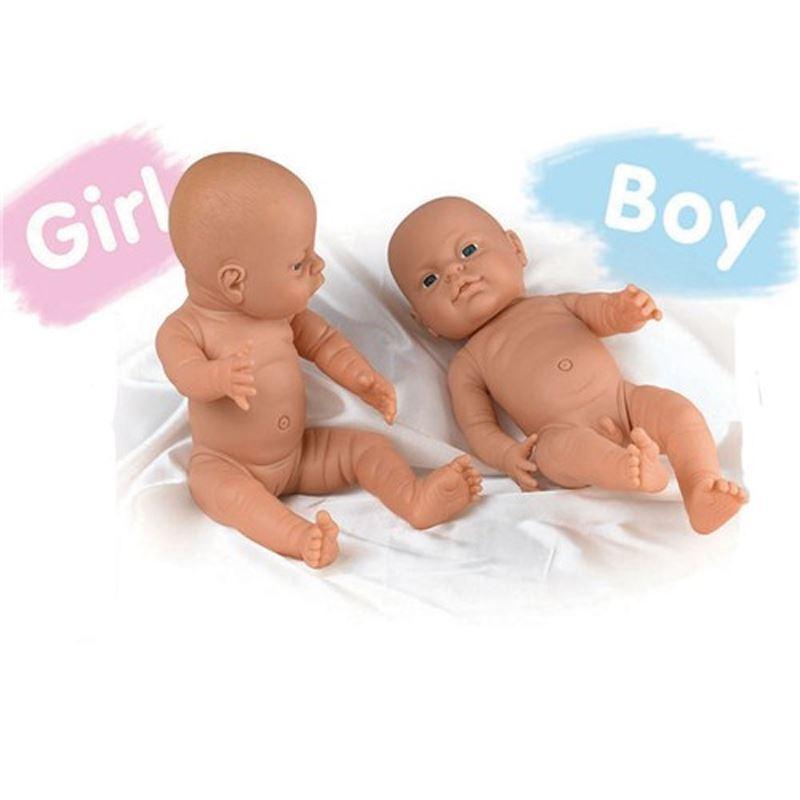 Naked toddler girls