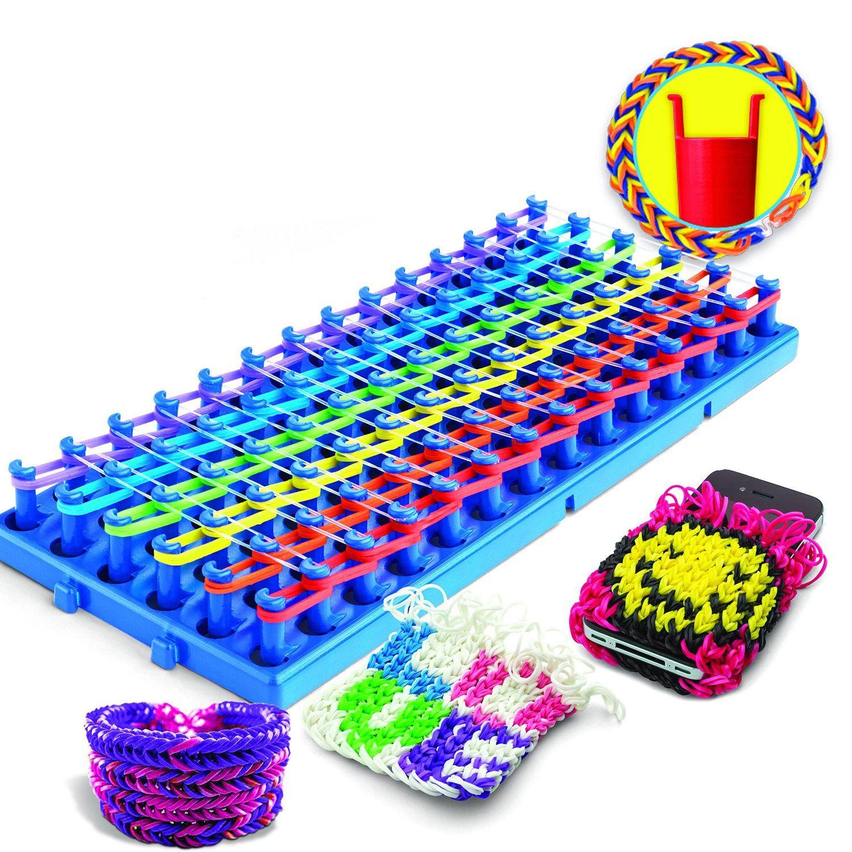 Схемы плетения резиночек на круглом станке