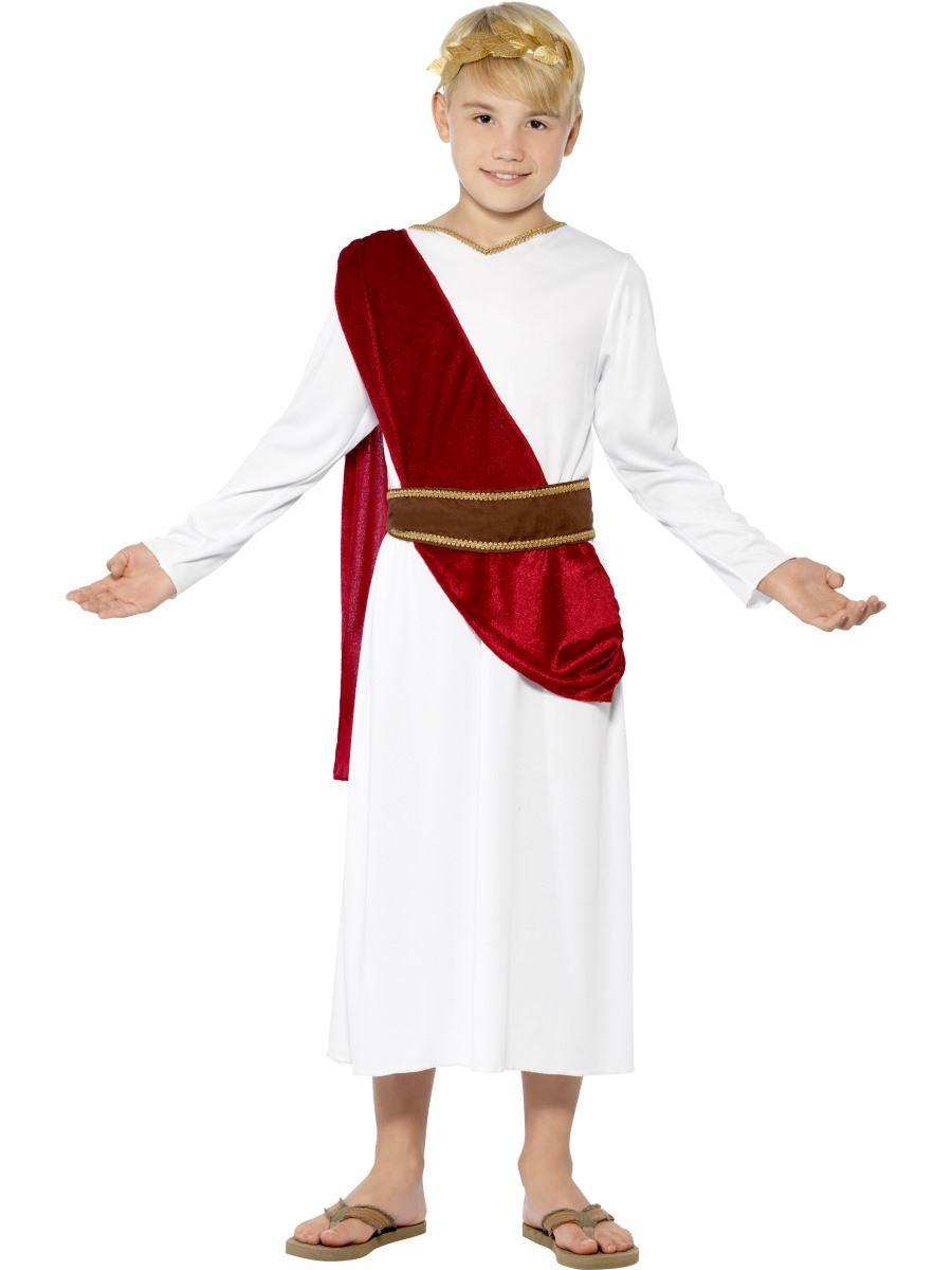 gar ons romain d guisement toge gr cque empereur c sar king costume enfant ebay. Black Bedroom Furniture Sets. Home Design Ideas
