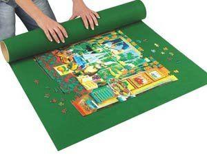 Jigsaw Roll Puzzle Felt Mat Storage For 300 2000 Pc