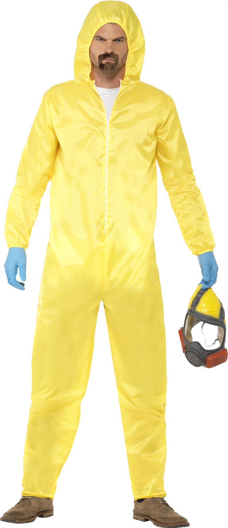 Yellow chemical suit fancy dress