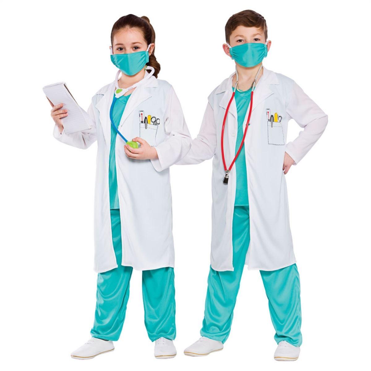 Hospital Doctor Nurse Surgeon Scrubs Fancy Dress