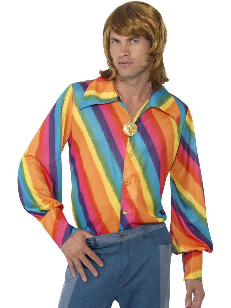 Mens Fancy Shirts Shirt-60s-70s-fancy