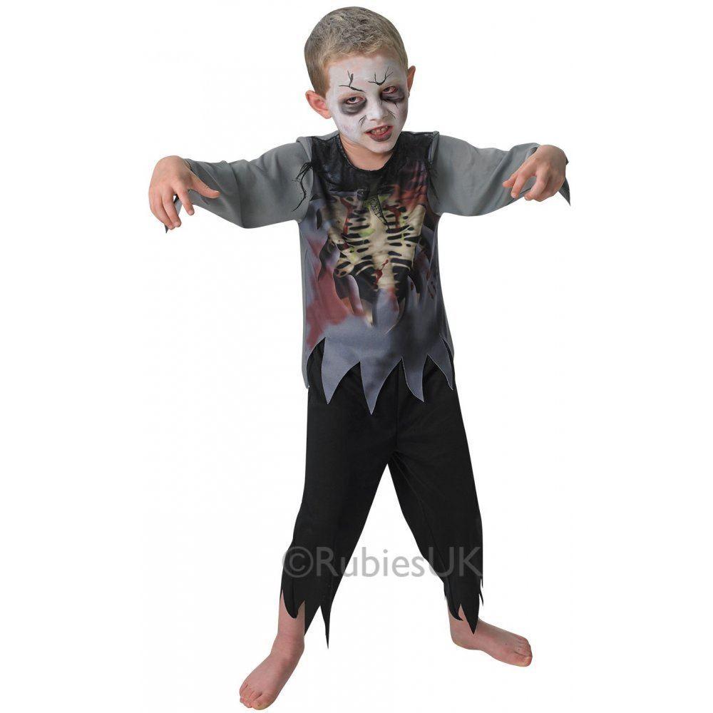 foto de Chicos Zombie Disfraz Halloween Terror Undead Infantil