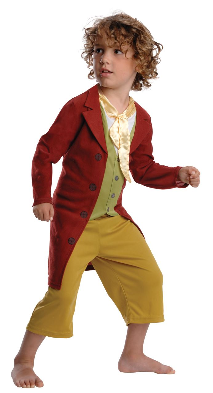 Official-Boys-Bilbo-Baggins-The-Hobbit-Book-Week-Fancy-Dress-Costume-Ages-3-8