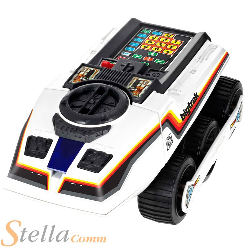 80s Electronic Toys : Brand new bigtrak retro s electronic programmable toy