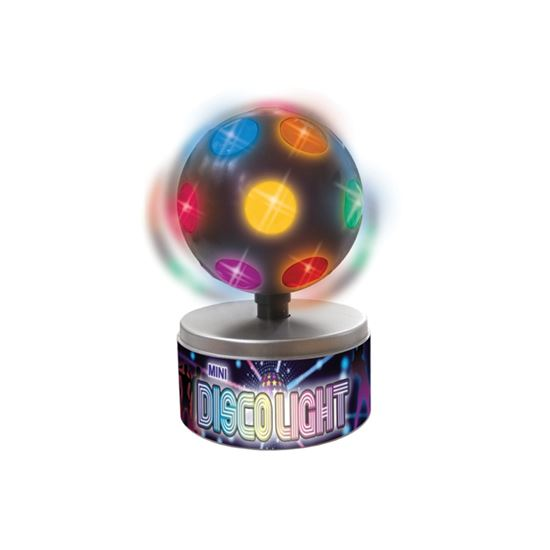 Mini Rotating Disco Lights - Fun Novelty Party Spinning Lighting Gift eBay