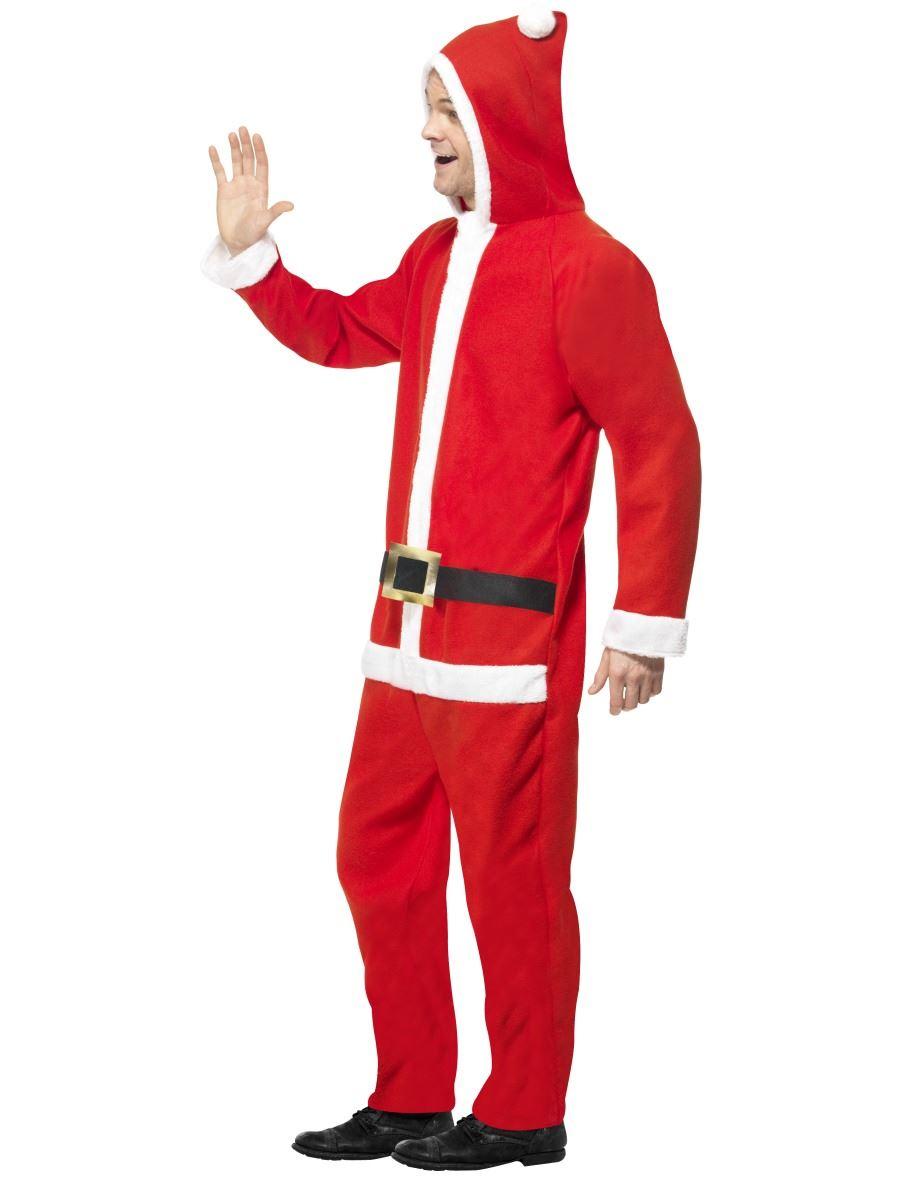 Mens santa claus onesie father christmas fancy dress