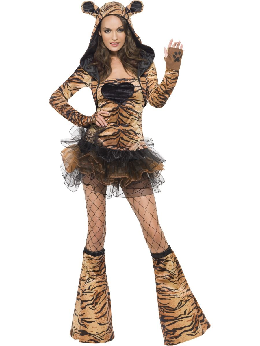 Ladies-Fever-Sexy-Animal-Jungle-Zoo-Safari-Outfit-Fancy-Dress-Costumes-Size-4-18
