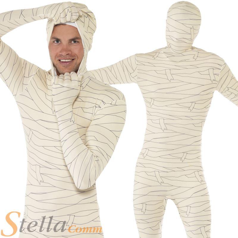 Mens Mummy Second Skin Horror Halloween Fancy Dress  sc 1 st  Meningrey & Mummy Costume For Men - Meningrey