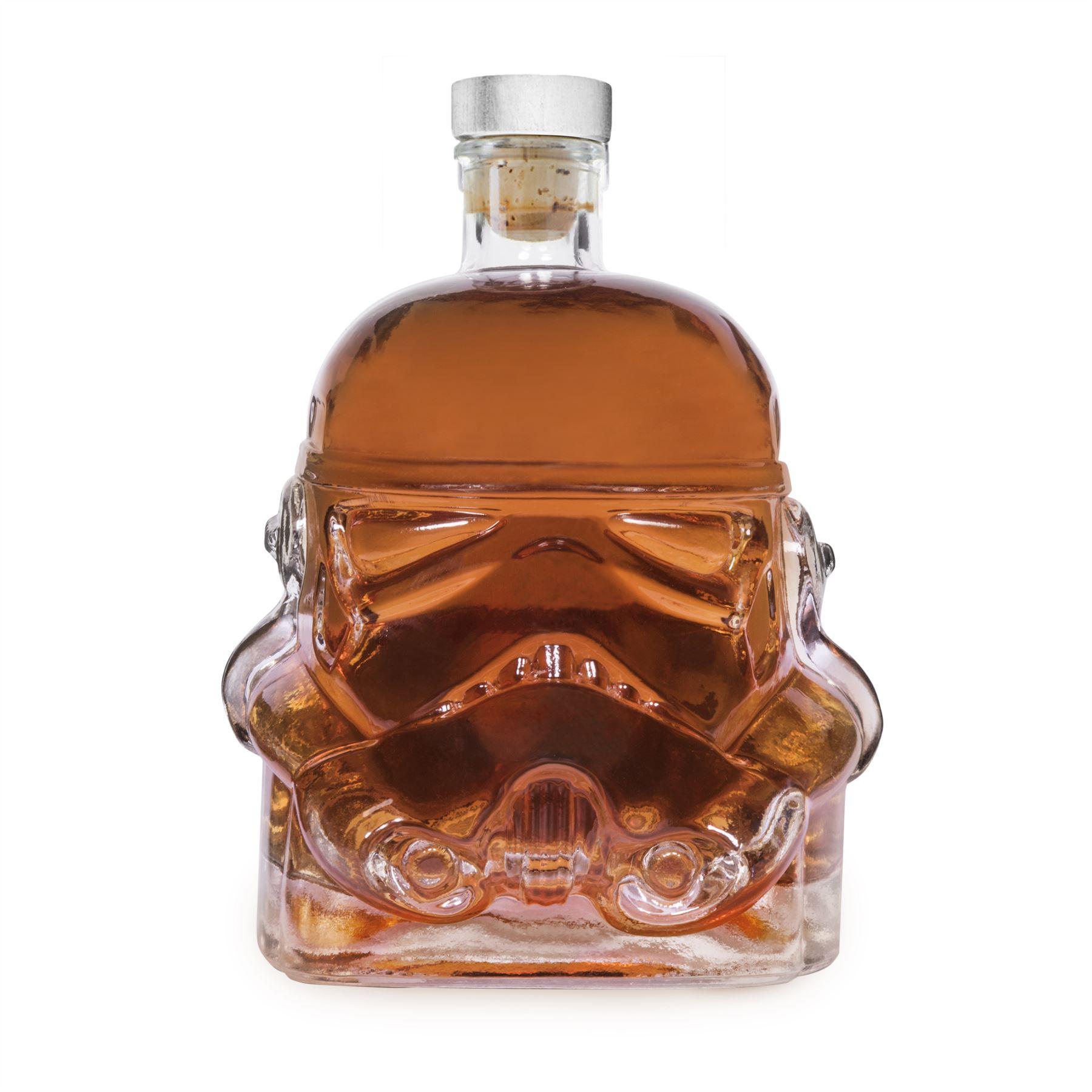 star wars storm trooper glass drinks decanter whisky. Black Bedroom Furniture Sets. Home Design Ideas