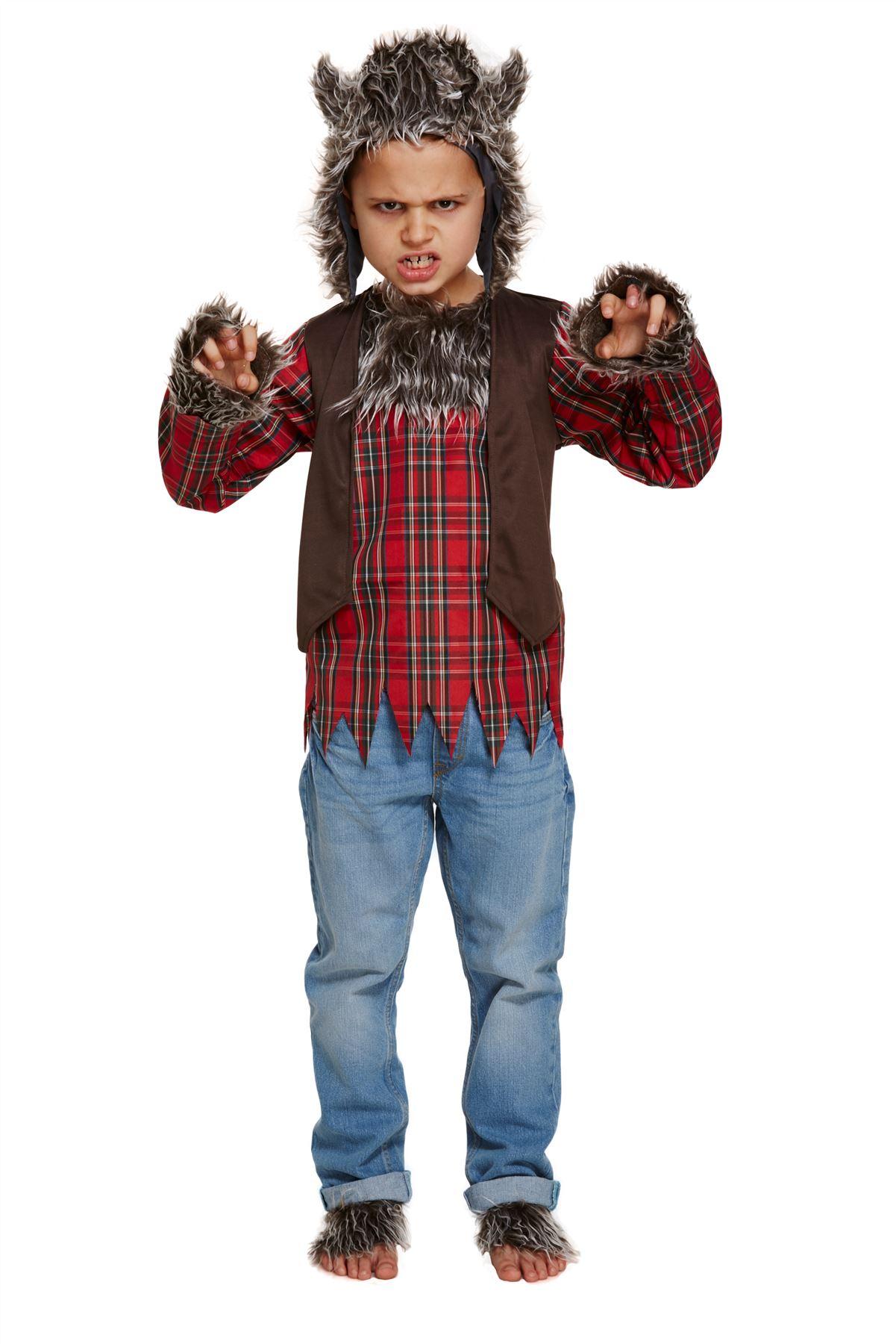 Aninimal Book: Child Werewolf Costume Boys Girls Halloween Wolf Fancy ...