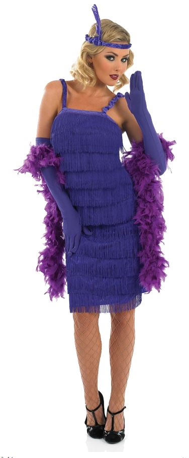 Ladies-Charleston-Flapper-Fancy-Dress-Costume-20s-30s-Gatsby-Outfit-Gloves