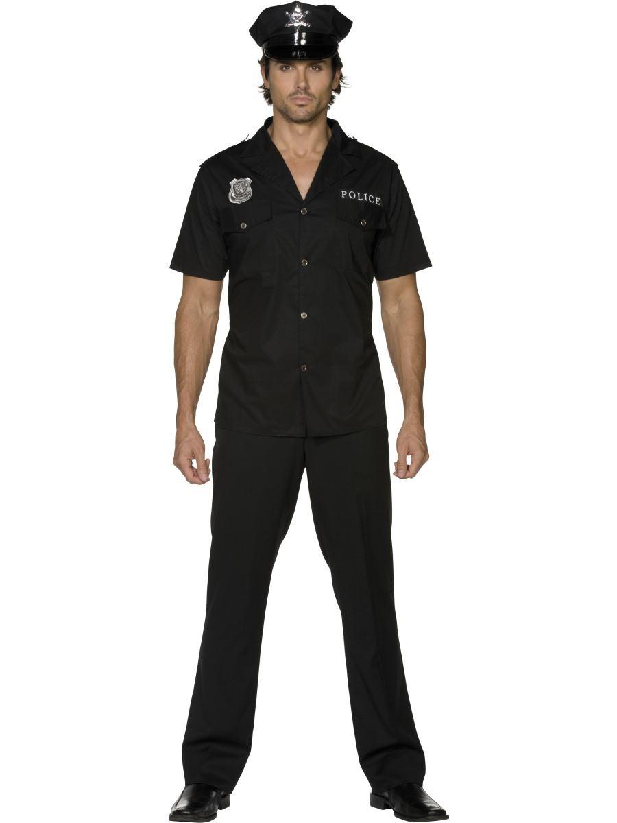Adult policeman costume