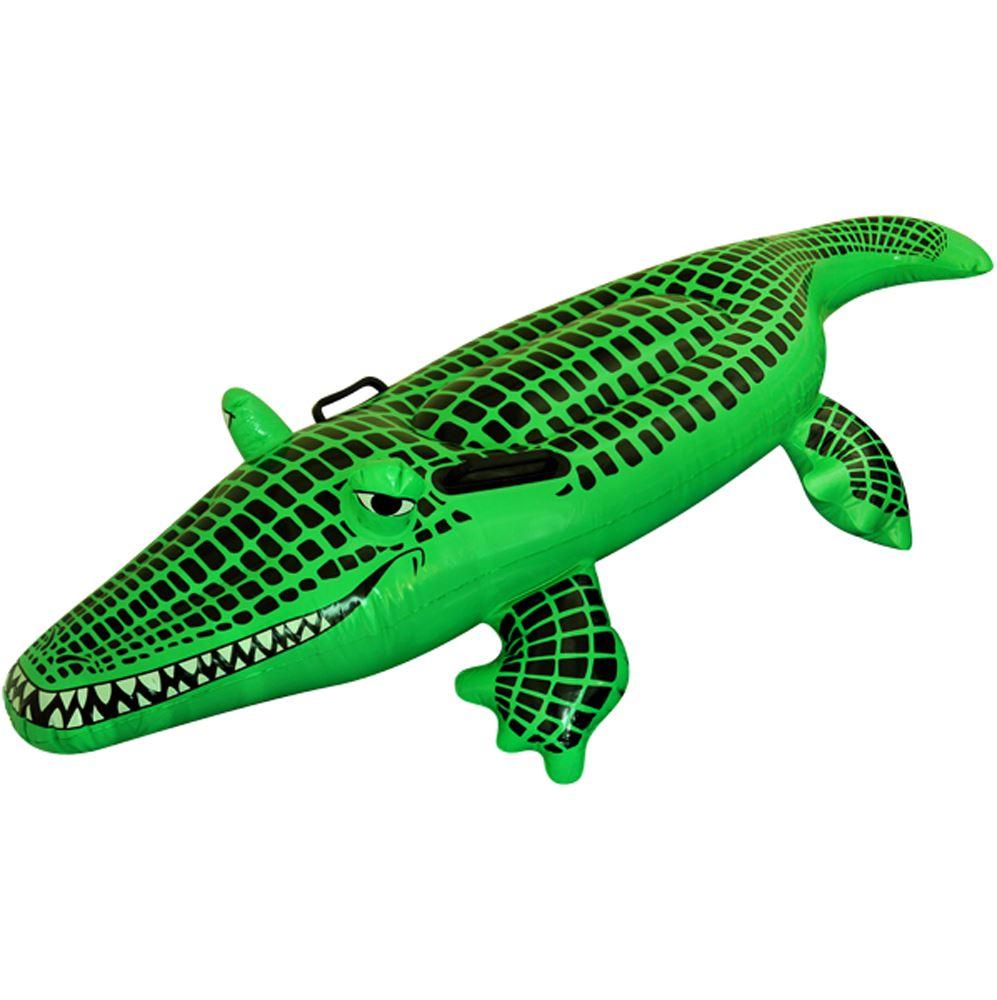 Large 150cm Inflatable Crocodile Alligator Beach Pool