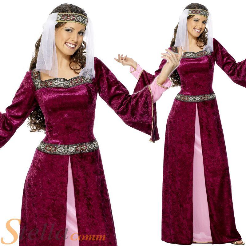 Disfraz Lady Marion medieval mujer - Barullocom