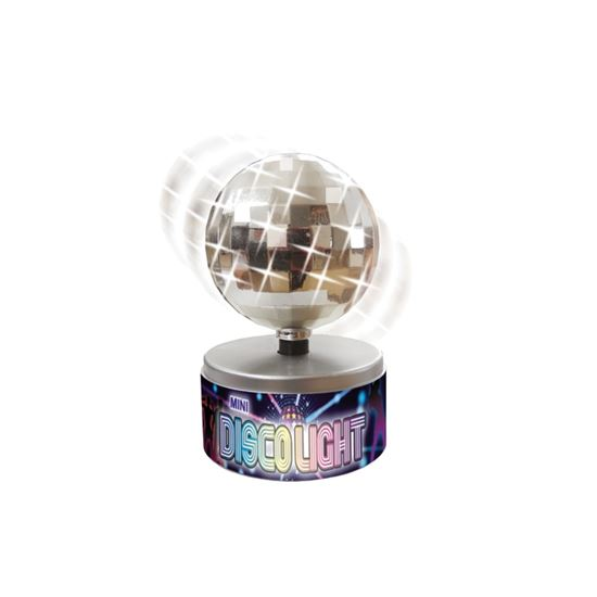 Mini Rotating Disco Lights - Fun Novelty Party Spinning Lighting Gift eBay