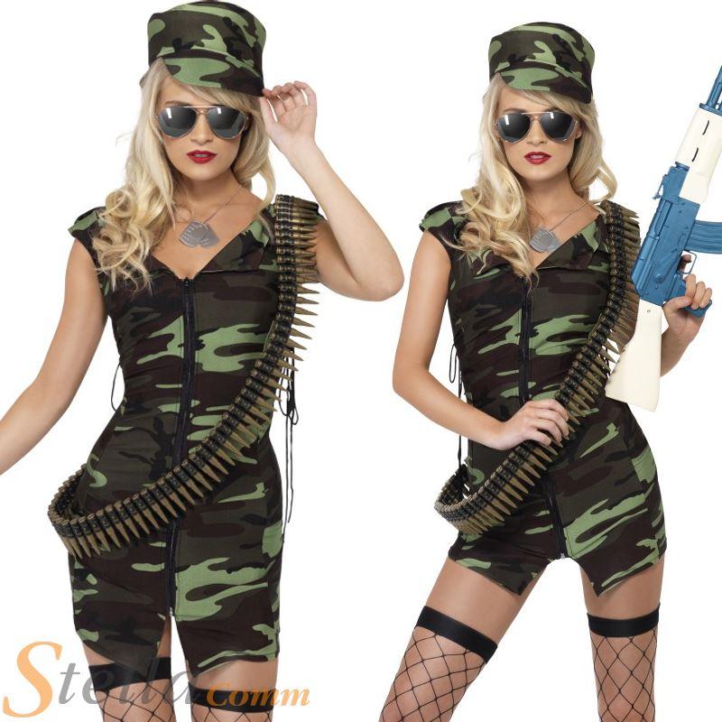 combat army fancy dress costume