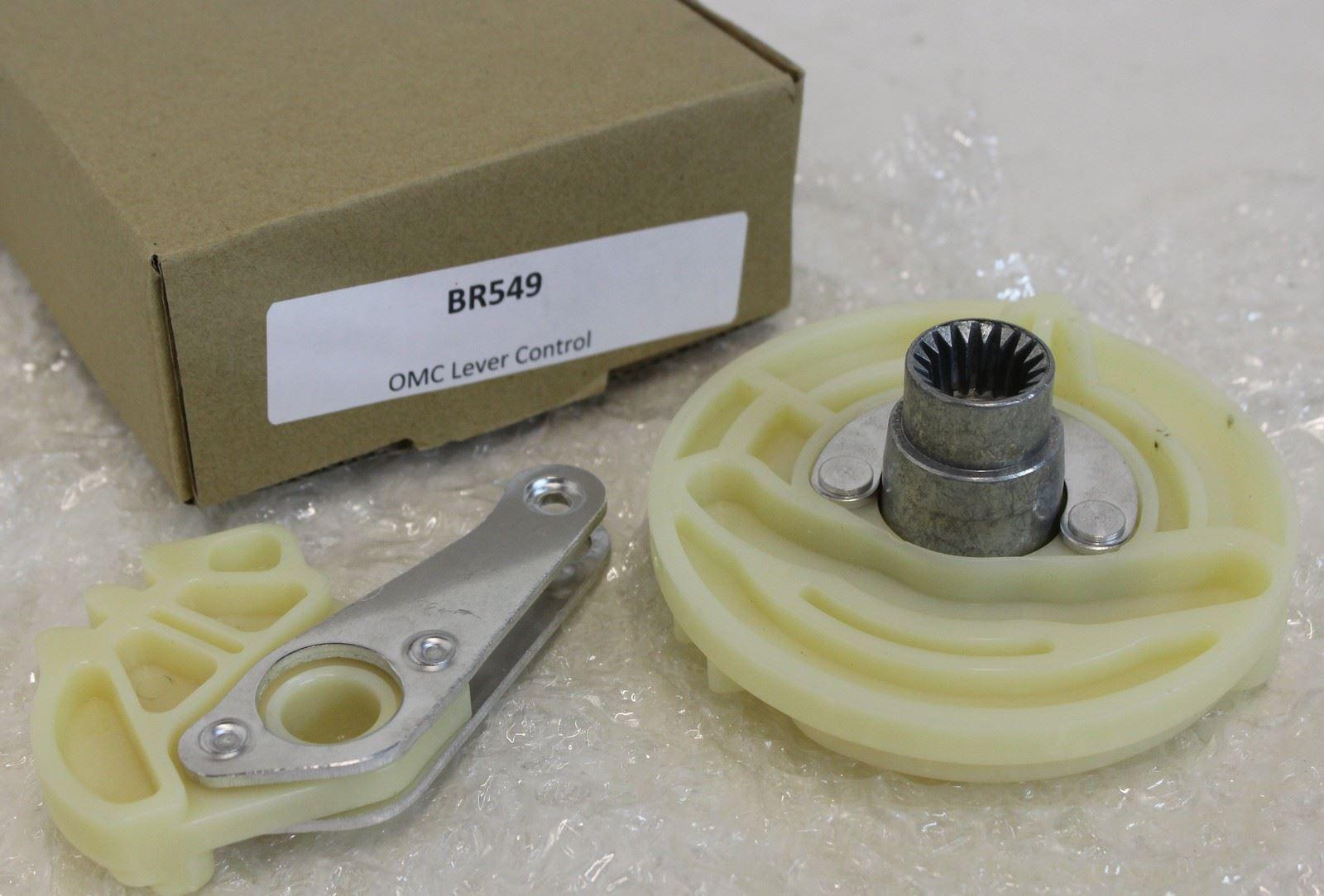 Johnson Omc Control Box Parts : New omc br control box cam lever evinrude