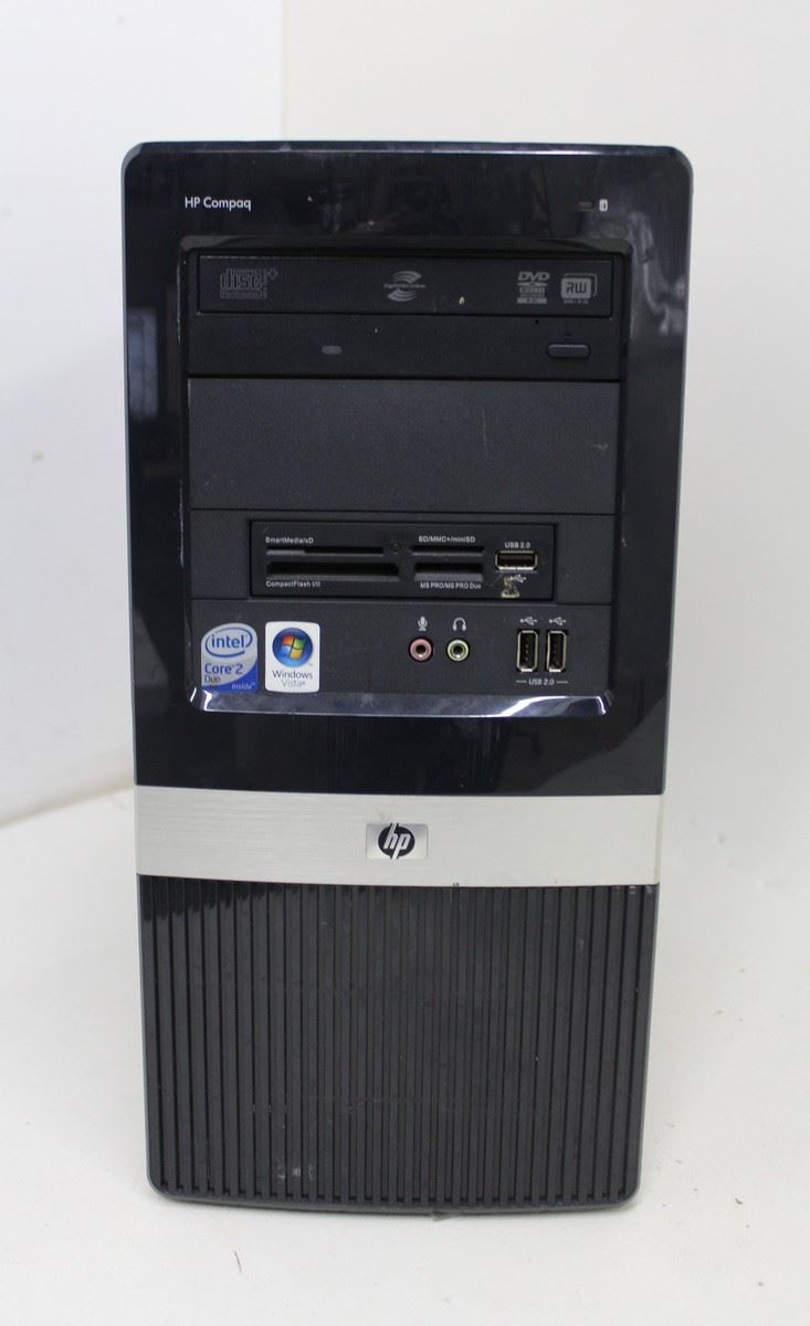 hp compaq dx2400 intel core 2 duo 2 4ghz 2gb ram. Black Bedroom Furniture Sets. Home Design Ideas