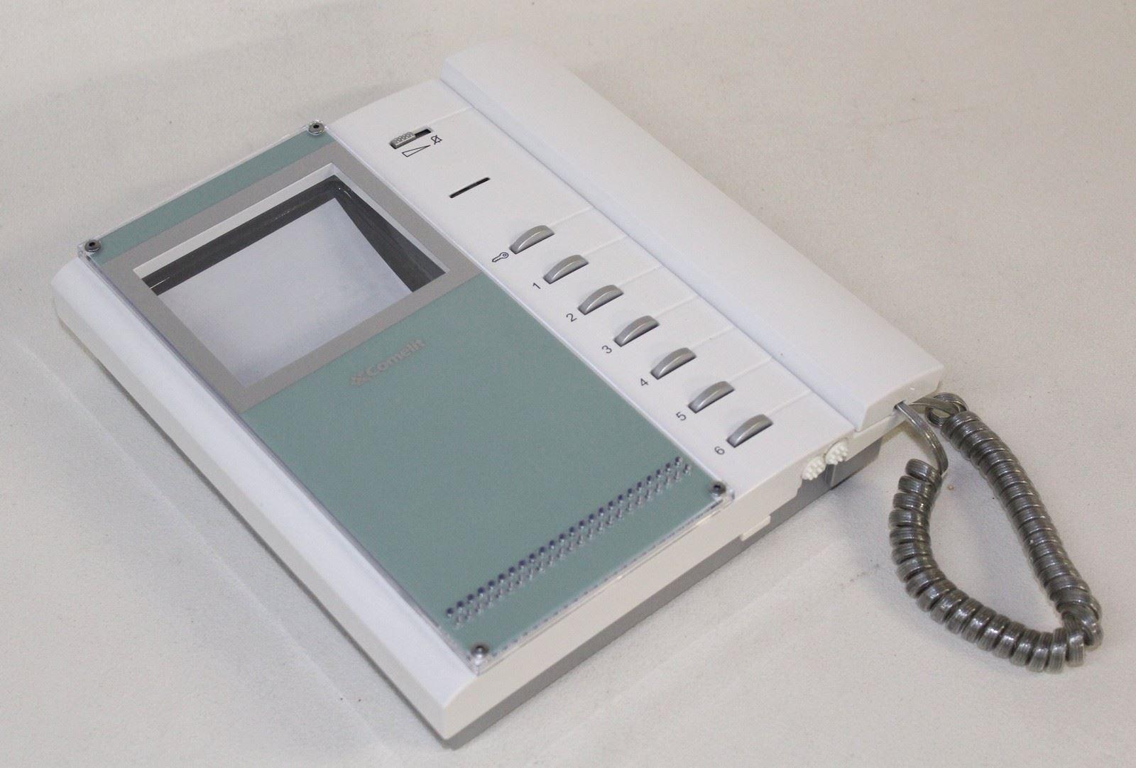 Comelit bravo 5702 video phone door entry system intercom for Door entry handset