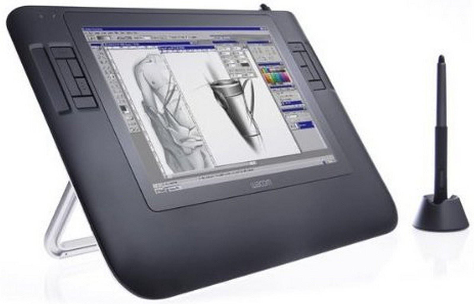 BNIB WACOM Cintiq 12WX DTZ-1200W/G Interactive Pen Display Graphics Tablet  | eBay