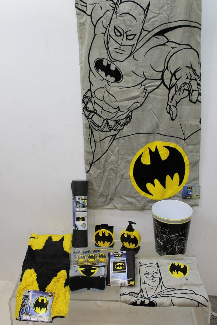 new franco 26 batman bathroom accessories set