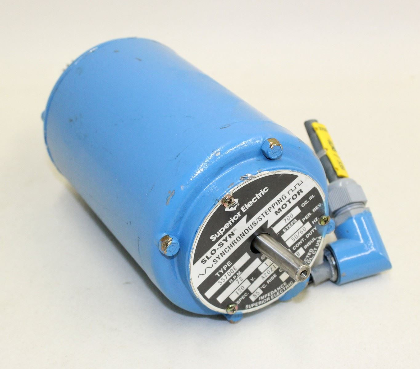 Superior Electric Slo Syn Synchronous Stepping Motor Ss700e 120v 1 1a 50 60hz Ebay