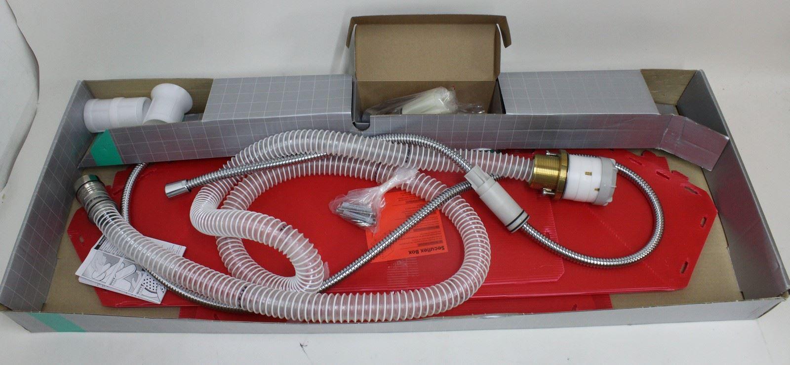 Hansgrohe axor pharo secuflex 28380 cerchio montato set - Supporto per vasca da bagno ...