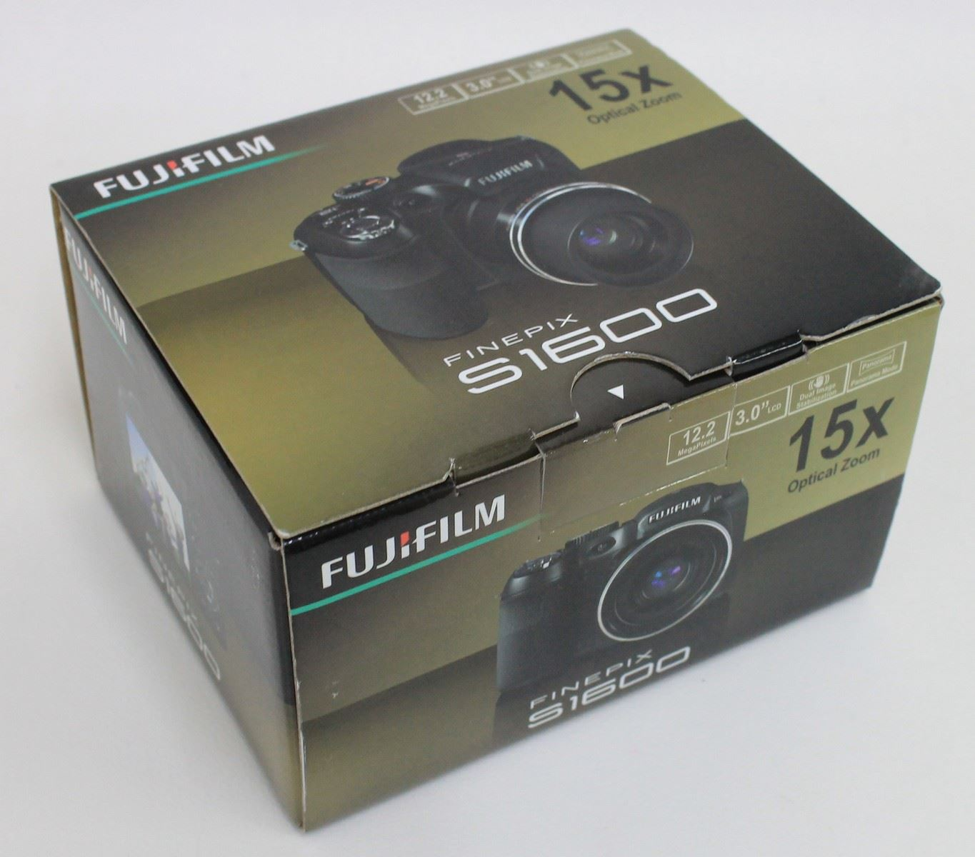 Bnib fujifilm finepix s1600 digital camera 12 2 mp 3 lcd for Prix fujifilm finepix s1600