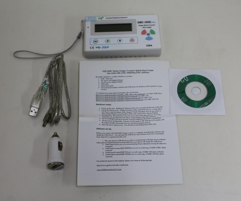 UPC 626853100324 - New GQ GMC-300 Nuclear Radiation Detector
