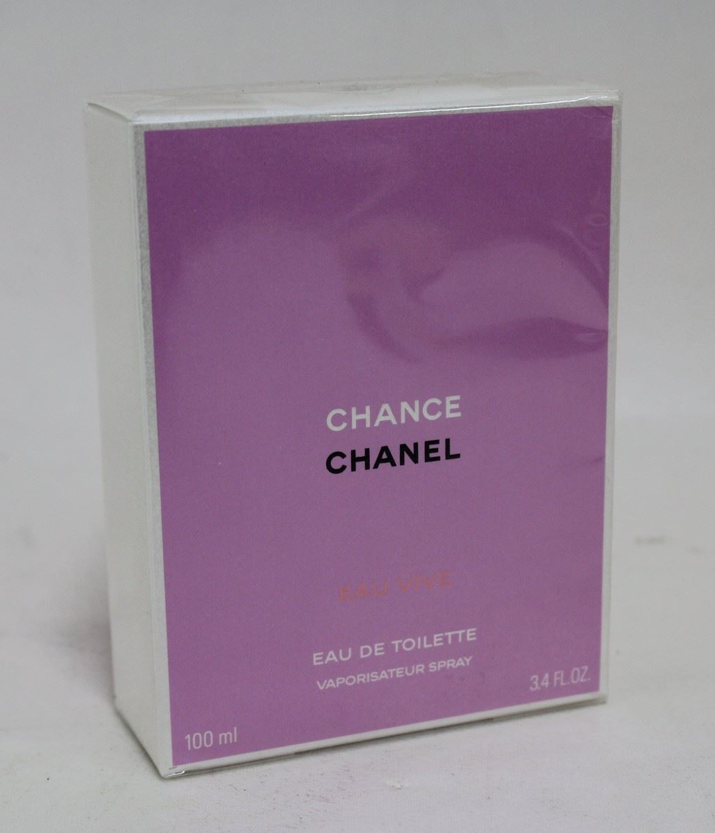 BNIB CHANEL Chance Eau Vive Ladies Eau De Toilette Fragrance Spray 100ml | eBay