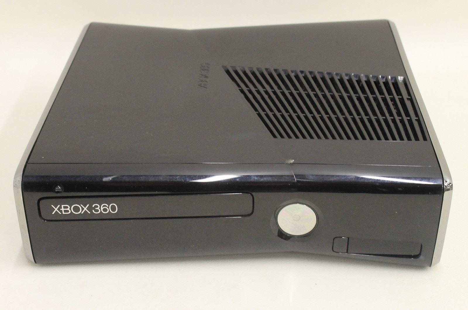 MICROSOFT XBox 360 S 250GB Glossy Black Games Console ...