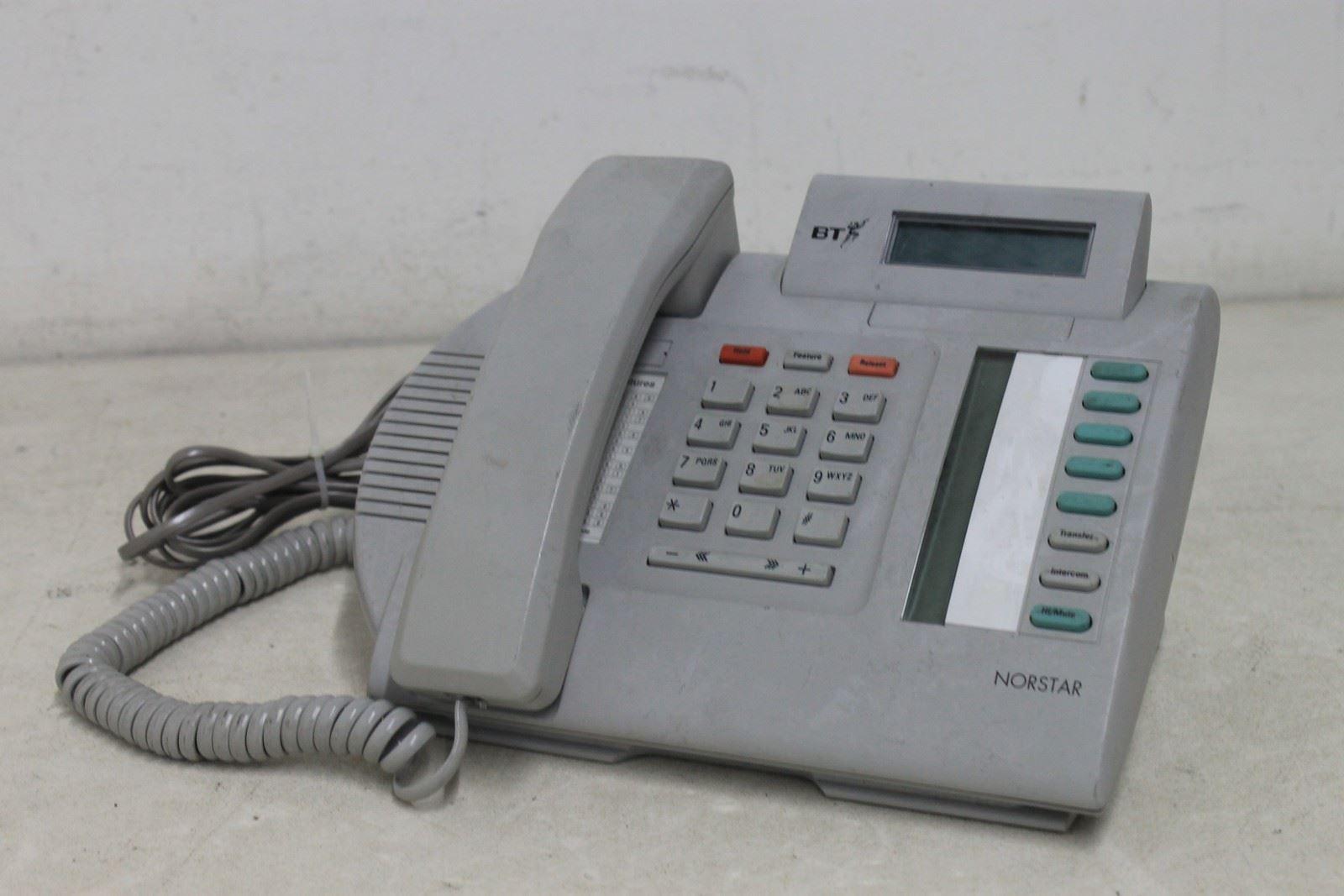... Norstar-M7208N-BT-Desktop-LCD-Office-Speakerphone-Multi-Line-Telephone