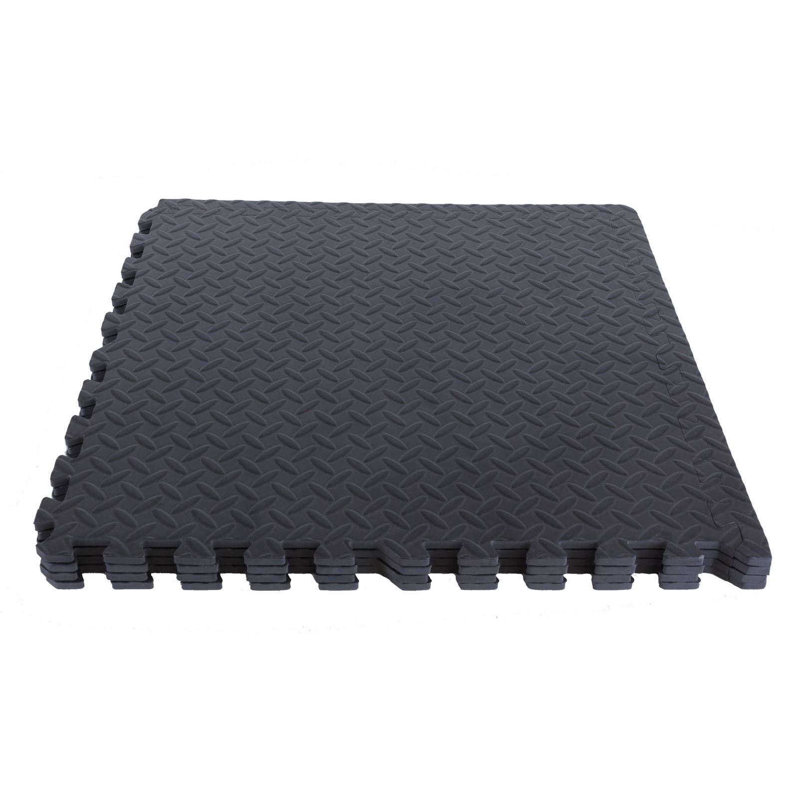 interlocking eva soft foam exercise floor mats gym garage. Black Bedroom Furniture Sets. Home Design Ideas