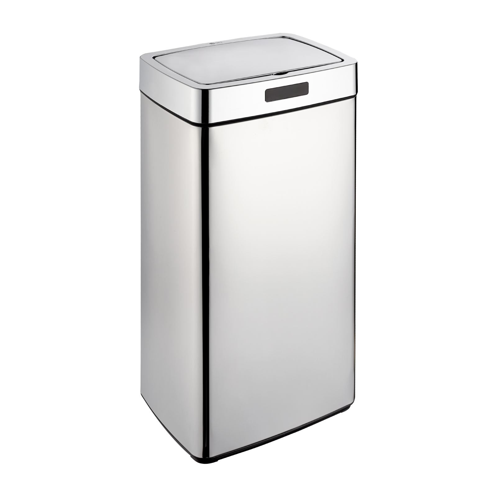 Kitchen Waste Bins: Dihl 28L 35L 45L Mono Rectangle Chrome Sensor Kitchen